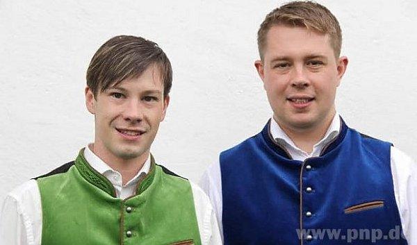 Hejtman (vpravo) a jeho partner Tobias.