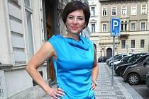 Barbora Kodetová (43), partnerka houslového virtuóza Pavla Šporcla. Do jižních Čech jezdila odmalička, třeba do statku poblíž Klenovic.