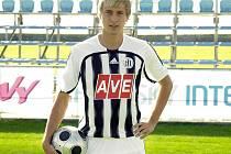 Osmnáctiletý František Němec si v zápase s Mladou Boleslaví odbyl debut v A-týmu Dynama.