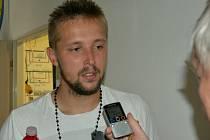 Michal Toma po zápase s Hradcem odpovídá na dotazy Deníku jižní Čechy.