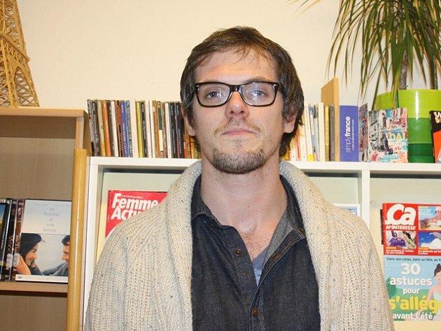 Jean-Benoit Foucart, Francouz žijící v Budějovicích.