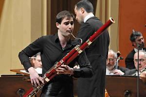Fagotista Jan Hudeček (23), rodák z Českých Budějovic, se stal vítězem 66. ročníku mezinárodní hudební soutěže Pražského jara v oboru fagot.