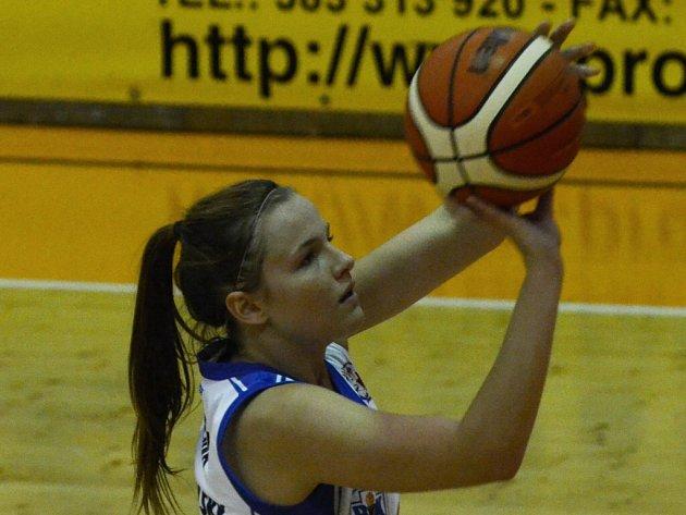 DOBROU PRÁCI odvedla Jolana Krejčová proti Žabinám.