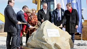 Zahájení stavby obchvatu Českých Budějovic