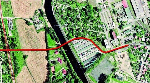 Českobudějovický magistrát výhledově do budoucna plánuje, že by mohl postavit nový most přes řeku Vltavu. Ato vjižní části města ve čtvrti Rožnov.