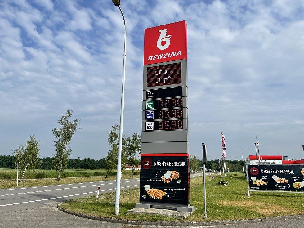 Benzina v Protivíně