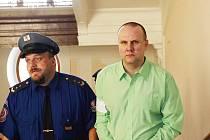 Martin Vacík si na ortel soudu ještě počká. Ve vazbě zatím zůstává.