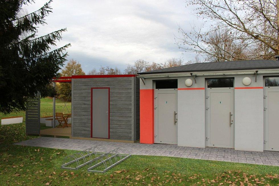 V českobudějovické Stromovce bude u rybníku Bagr postaven v režii města stánek s občerstvením. V provozu by měl být od jara 2021.