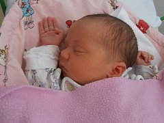 Prvorozená Alena Chobodová s porodní váhou 3,38 kg se narodila v pátek 31.1.2014 v 8 hodin a 18 minut. Šťastnými rodiči malé Alenky jsou manželé Pavel a Jana z Českých Budějovic.