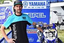 Zdeněk Blábolil letos jezdí za tým Yamaha Čepelák Racing.