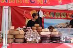 Vůně italských produktů táhne od pondělí na českobudějovické náměstí Přemysla Otakara II. Zakoupit pokrmy i oblečení budete moci do 30. září.