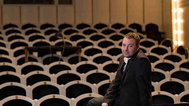 Ředitel Jihočeského divadla Lukáš Průdek.
