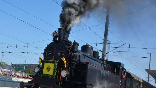 Císařův vlak přijede zase do Bad Ischlu.