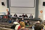 Jednání krajského sněmu ČSSD v Českých Budějovicích v sobotu 1. 2. 2020.