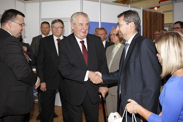 Mezi nejvýznamnější hosty patřil prezident České republiky Miloš Zeman.