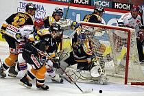 Hokejová extraliga pokračovala zápasem Mountfield-Litvínov
