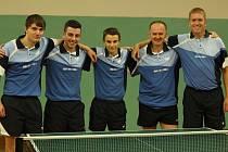 Stolní tenisté Pedagogu ČB