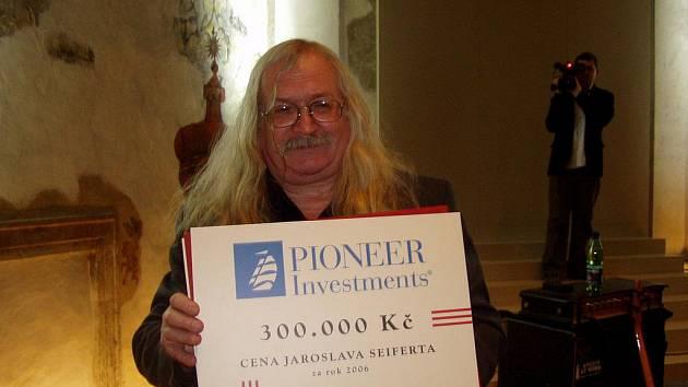 Ivan Martin Magor Jirous získal před lety Cenu Jaroslava Seiferta.