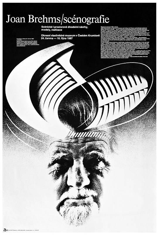Plakát Joan Brehms divadelní  architekt