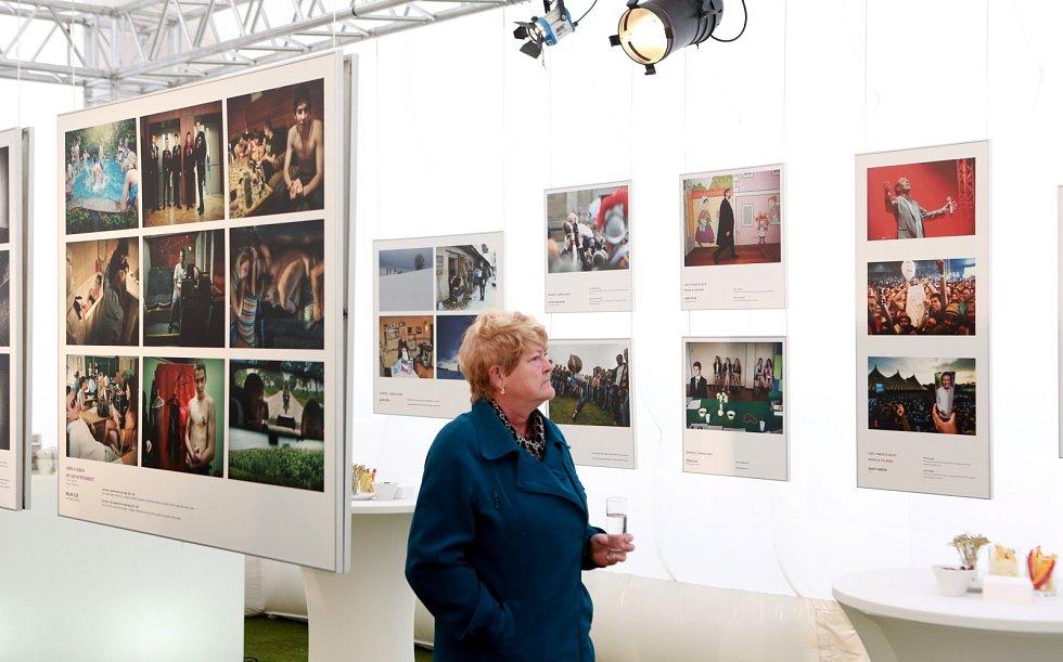 Až do neděle si můžete na náměstí T. G. Masaryka v Táboře prohlédnout 170 nejlepších fotografií ze soutěže Czech Press Photo.