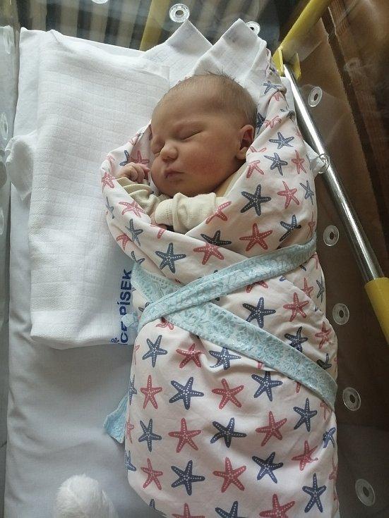 Maxmilián Koc z Písku. Syn Markéty Peckové a Jakuba Koce se narodil 31. 12. 2020 v 11.47 hodin. Při narození vážil 3850 g a měřil 53 cm.