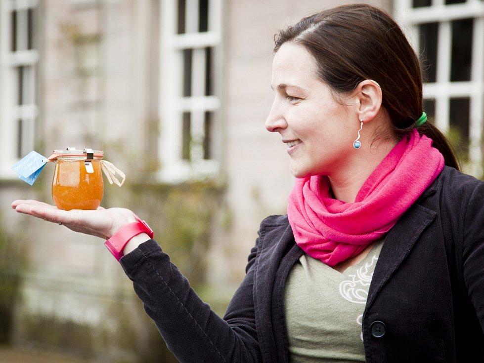 Pro ocenění za své marmelády si Blanka Milfaitová dojela do Velké Británie.