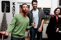V DK Metropol má 25. února evropskou premiéru izraelská hip hopová opera Te City. Na snímku dva z aktérů.