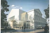 V soutěžním dialogu zvítězily ateliéry Chaix&Morel et Associés, které navrhly přetočení hlavního sálu o 90 stupňů aj.