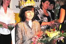 Vítězka Zlaté Mateřinky 2008 Vladimíra Priputenová z Mateřské školy Novodvorská v Trutnově neskrývala své dojetí. Učitelkou už je čtyřiadvacet let.