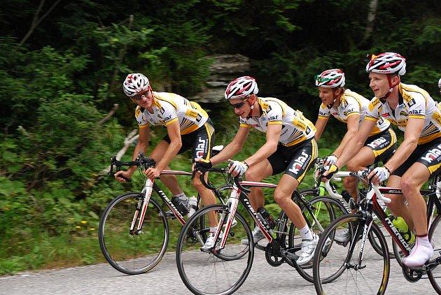 Cyklisté z Tábora jsou na soustředění v Krkonoších
