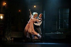 Baletní představení Jihočeského divadla Tramvaj do stanice Touha.