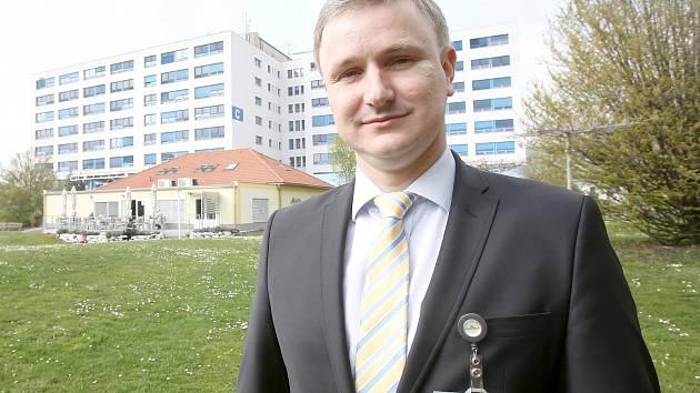 Novým ředitelem českobudějovické nemocnice je Michal Šnorek.