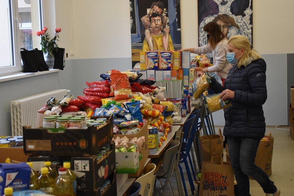 Potravinová sbírka pomohla. Ilustrační foto