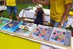 Jednu z prvních akcí proti úložišti uspořádala iniciativa Stop Janoch na Malešickém jarmarku v červenci letošního roku.