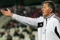 Fotbalisté Dynama prohráli v Teplicích 0:4 (na snímku trenér Luboš Urban).