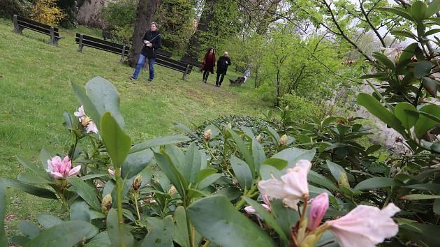 Mezinárodní den památek v Českých Budějovicích. Biskupskou zahradu na Zátkově nábřeží u Malše navštívily v sobotu desítky milovníků památek.