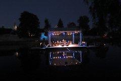 Múzy na vodě 2018 pokračovaly koncertem Michaely Germotové a Marianem Vojtkou