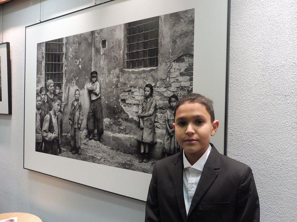 Dětský hrdina snímku Nabarvené ptáče Petr Kotlár.