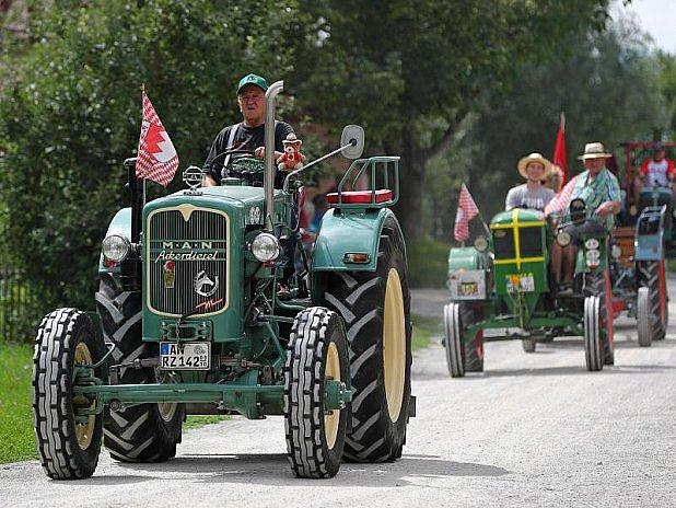 Traktoroví veteráni měli sraz.