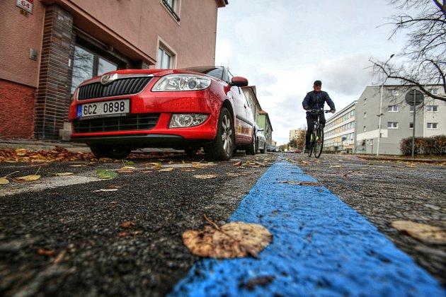 Parkovací zóny v Českých Budějovicích. Ilustrační foto.