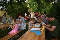 Děti si v Borovanech užily ve středu spousty zábavy.