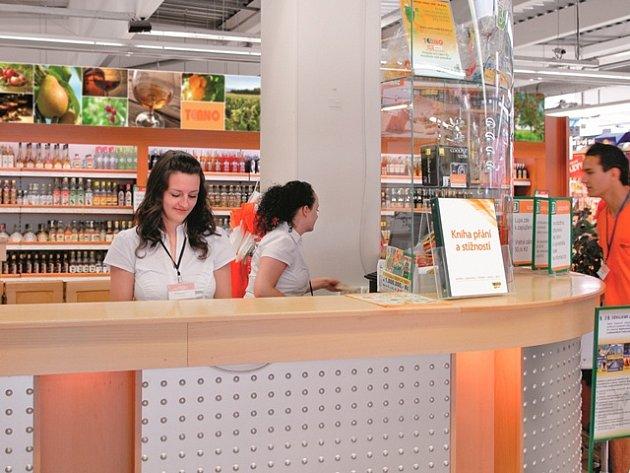 Informace o zákaznické kartě a dárcích získáte například v infocentru Terna České Budějovice.