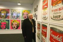 Sexsymbol. Marilyn Monroe je jednou z ikon Warholova díla. Warholovské výstavy byly v posledních letech v Praze, Mostě, Kroměříži i Ústí nad Labem (snímek).