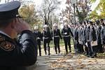 Při slavnostním aktu na Státním zámku Hluboká nad Vltavou krajský ředitel hasičů Lubomír Bureš dále uděloval medaile Za věrnost a třiadvacet nových příslušníků sboru složilo služební slib.
