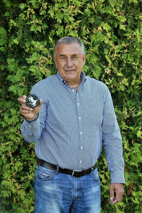 Dvojnásobný mistr světa a trojnásobný vítěz Stanleyova poháru Jaroslav Pouzar.