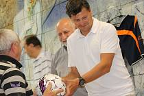 Roudenského předsedu Libora Šolce okresní kluby zvolily do výkonného výboru na další čtyři roky.