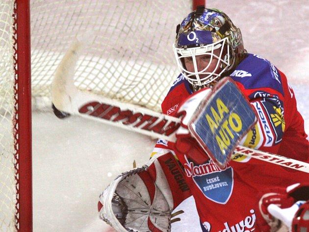 Brankář HC Mountfield Roman Turek má v play off skutečně famózní formu.