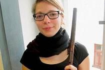 Flétnistka Barbora Plachá získá nový nástroj.