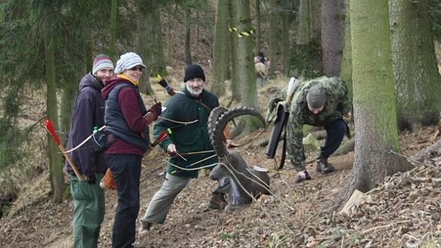 Lukostřelecký areál v Bartochově hostil závody Českého poháru v 3D lukostřelbě.