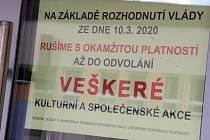 DK Metropol ruší veškeré akce.